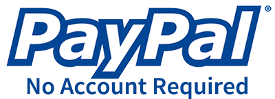 Donate with PayPal - No Account Required